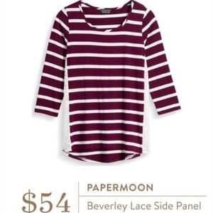 Stitch Fix Papermoon Beverly Lace Panel Top A-1